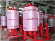Cina Stainless Steel 304/316 Diafragma Water System Pressure Tank Dengan Polishing Treatment pabrik