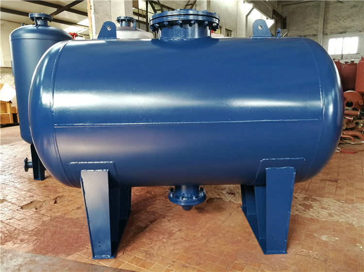 Blue Diaphragm Water Well Pressure Tank , Atmospheric Pressure Storage Tank